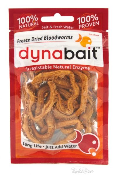 Наживка Dynabait Solid Blue Dry Bloodworms